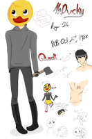 [CP OC] Mr. Ducky Reference by PIantea