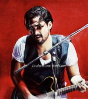 Florent Mothe (Watercolors) by Bembiann