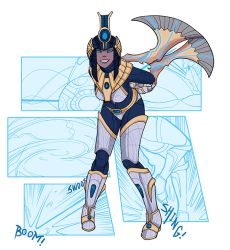 Star Strike Neith by Zennore