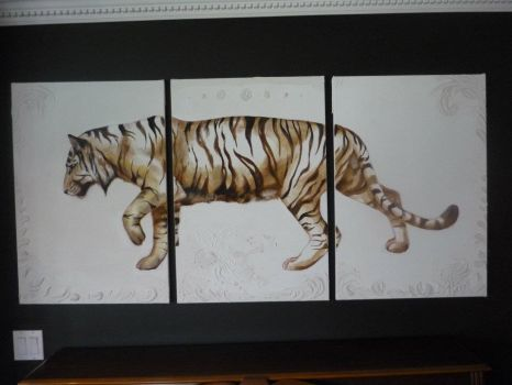 Tiger Painting by Underpants