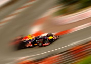Mark Webber wins Monaco GP 2012 by DaveAyerstDavies
