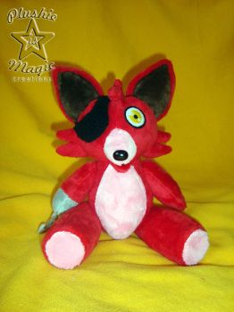 Just another one Foxy plushie by SunflowerTiger