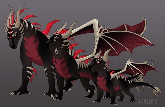 Monster dragon adopt 2 result by Shaiger