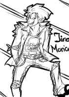 Jiro Moriah Everyone grows up by MistressOfAntics