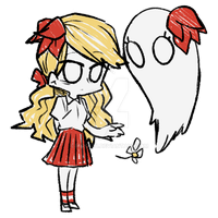 Don't starve - wendy by miro1211