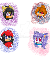 +.:Head shots Thingy:.+ [ART TRADES] by DannyMoved