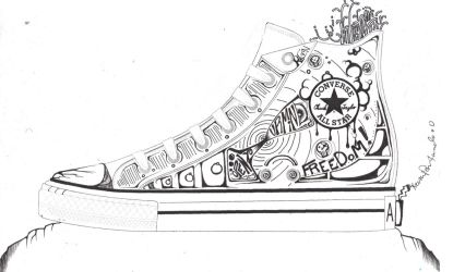 My Converse Design by kevinandre91