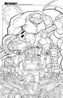 Battletoads Linearts by RobDuenas