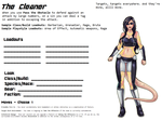 Avatar Sheet Prototype - The Cleaner by Thrythlind