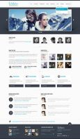 Webster Premium HTML Template by ZERGEV