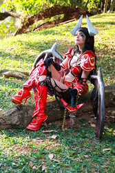 Queen of Pain Cosplay - Dota 2 by icecharizardcosplay