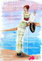 Tea Gown - Titanic by FashionARTventures