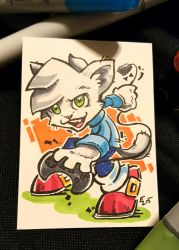 Inktober 2015 - Boots and Cats #26 by eric3dee