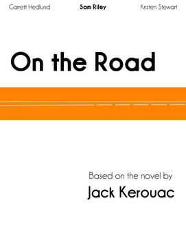 On the Road - Minimalist movie poster by ronamo
