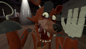 SFM Foxy looking at the camera by DarkVirus87