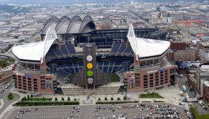 Qwest field and Safeco Field by demenshia