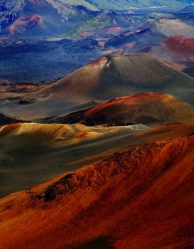 Haleakala Crater by maxpower