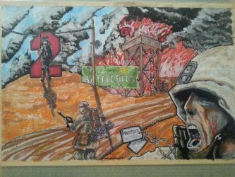 BF 2 epic fight   Battlefield two by bedlamnac