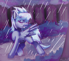 Dancing in the Rain by Mewball