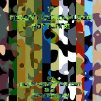 Modern Camouflage Patterns by silver-
