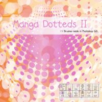Dotted Manga Style II Brushes by Coby17