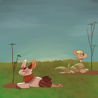Earth Day (spring prompt) by seadoggies