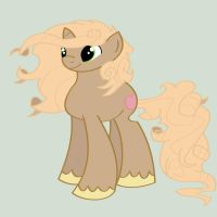 White Latte MLP Adoptable 30 Points by MonkFishyAdopts