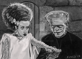 Bride of Frankenstein by adavis57