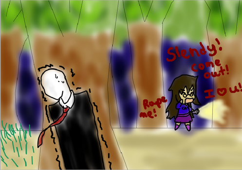When I play Slender... by runiekitten