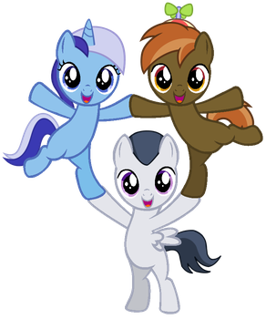 Cutie Mark Crusaders replacements YAY! by DreamCasterPegasus