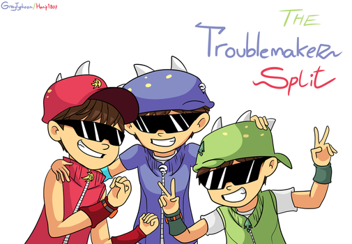 The Troublemaker Trio by GrayTyphoon