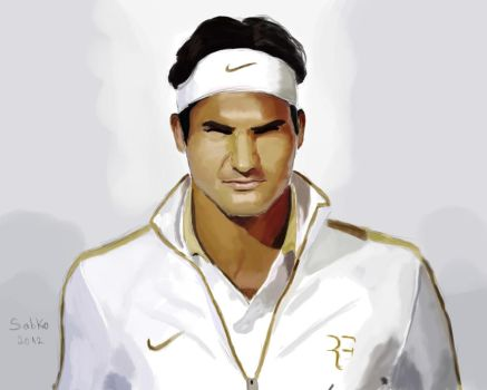 Roger Federer by saban182