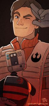 Poe Dameron by Kaisel