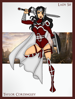 Commission - Lady Sif by Femmes-Fatales