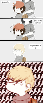 |Comic| - Day at the hairdresser by KingDanduri