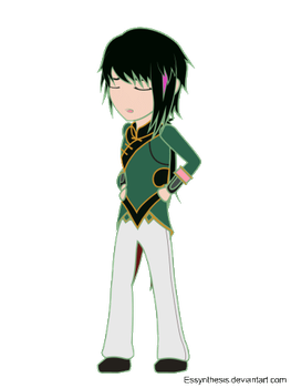 RWBY - chibiRWBY: Lie Ren by Essynthesis