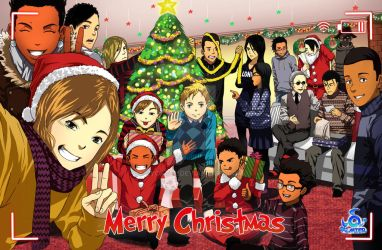 ALMIER CHRISTMAS POSTER by Lycatel
