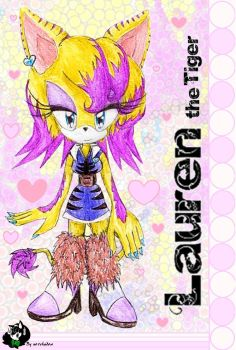 .:Lauren the Tiger NEW by no1shadow