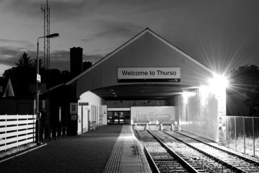 Thurso Railway Station by CitizenJustin