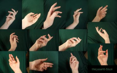 Hand Pose Stock - Classical by Melyssah6-Stock