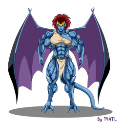 Commission - Demona by MATL
