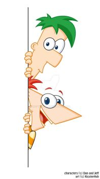 Phineas and Ferb by KicsterAsh