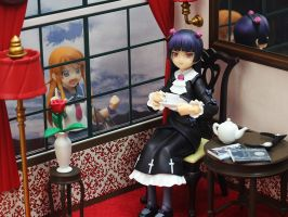 Figma Kuroneko - Tea Time by OvermanXAN