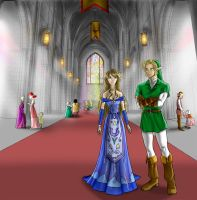 Zelda: The Temple of Time by Adella