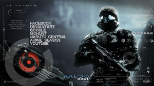Halo Rainmeter by sean-naes