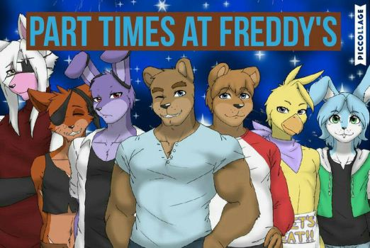 Part times at Freddy's (Gift) by Rainbowdawn05
