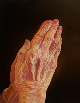 Mother's Praying Hands (Inspired By Duerer)