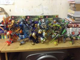 Complete Bionicle 2016 Set by ToaHeroStudio