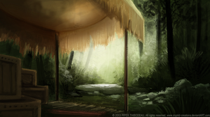 DAY 248. Campground by Cryptid-Creations
