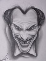 Joker drawing by justTattoo